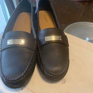 Women brown Coach shoes
